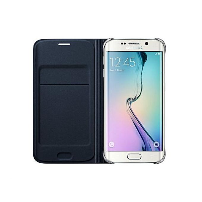 timeless design 56143 2c093 Galaxy S6 Edge Flip Wallet - Black