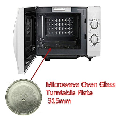 Clear Microwave Oven Turntable Gl Tray Plate Accessories Dia 31 5cm