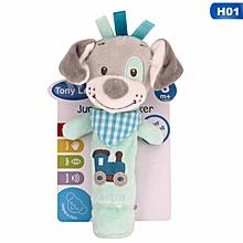 Baby Pacifier Towel Cute Cartoon Bear Soft Plush Nursing Stuffed Play Doll Infant Care Towel Bath & Shower Product