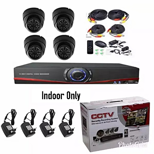 4 Channel Indoor CCTV Camera