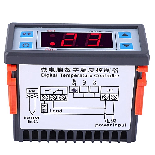 Adjustable Temperature Controller LCD Display Of Liukouu Digital Thermostat XD-W200