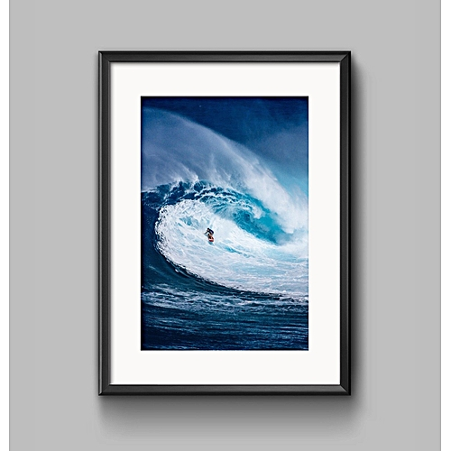 Modern Sea Life Canvas Print Painting Ocean World Art Poster Home Wall Decor - 30*40cm
