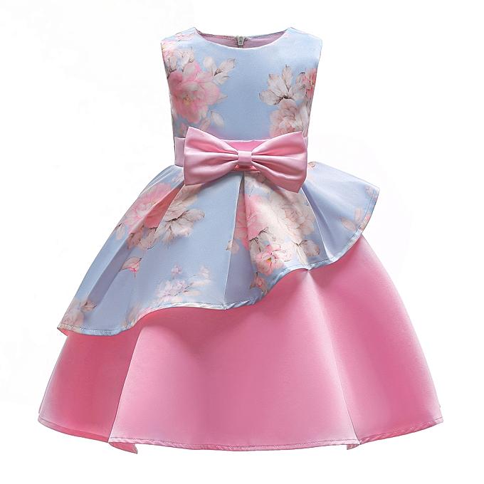 Fashion Summer Dress Girl Fancy Flower Girl Dresses For Carnival