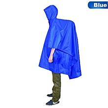 433463b0f7e4e Foldable Portable Raincoat Multifunctional Lightweight Raincoat Hiking  Cycling Rain Cover Poncho Rain Coat Outdoor