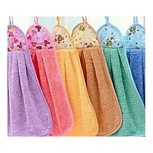 Hang Able Kitchen Towels-multicolored 6pcs