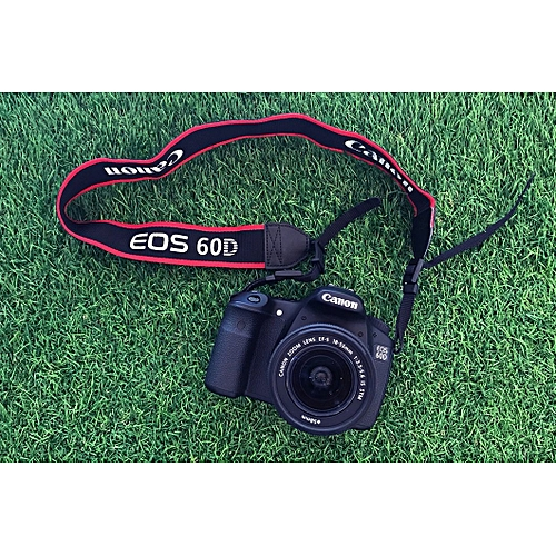 Canon Camera 60D + 18-135mm Lens
