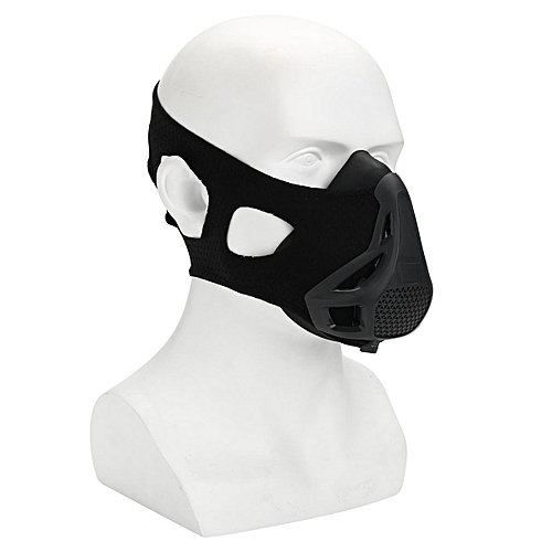 S/M/L High Altitude Elevation Training Face Mask Gym Mma Fitness Cardio Workout Elevation Training Mask 2.0 Blackout Edition (All Sizes) #M Size