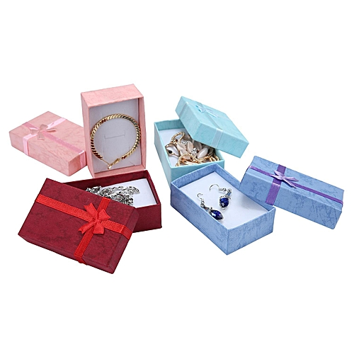 Elegant Rectangle Gift Box For Bracelets Pendant Earring Necklace