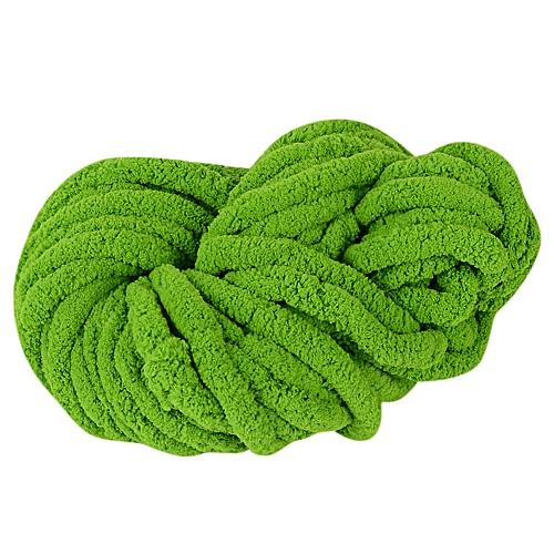 Jummoon Shop Worsted Super Coarse Soft Smooth Natural Silk Wool Yarn Knitting Crocheting C