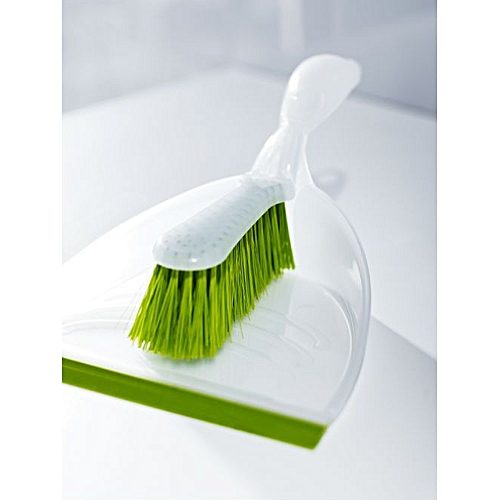BLASKA Dust Pan And Brush - Green