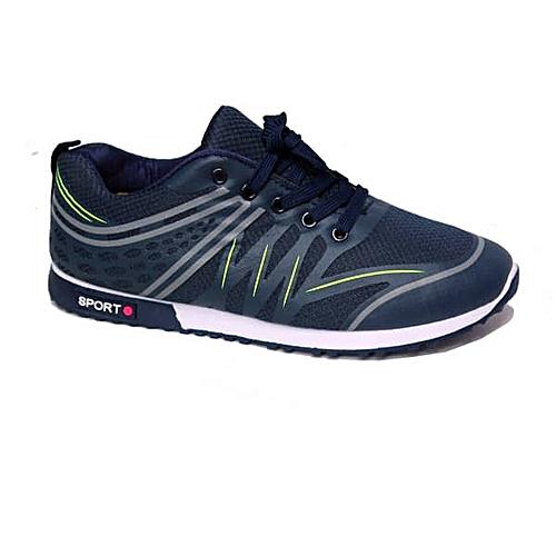 Men's Shoes Walking Jogging -blue