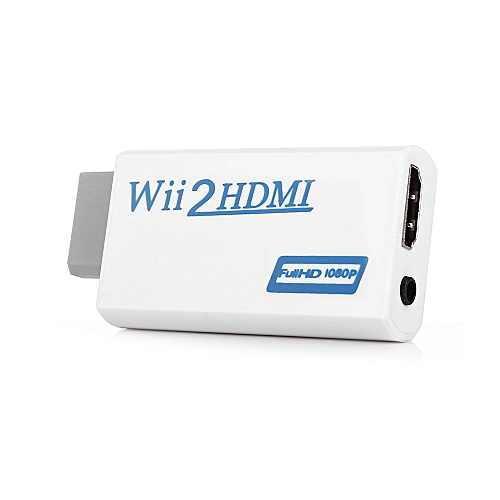 HDMI Converter Adapter For Nintendo Wii - White