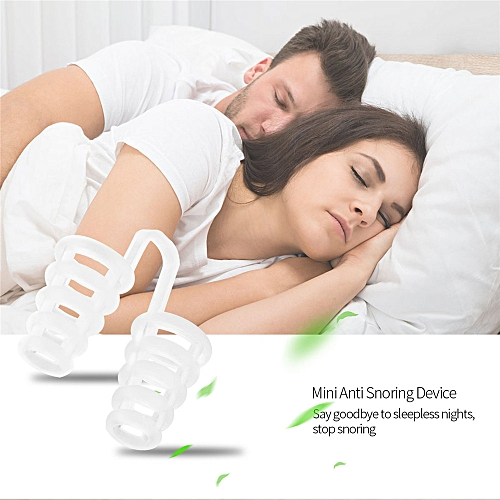 4Pcs/set Mini Silicone Anti Snoring Device Eliminate Or Relieve Snoring Nose Clip Sleep Aid