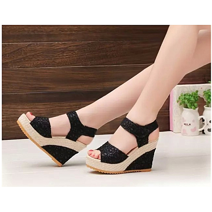 cf2afa78e919 ... Women s Shoes Suitable   Comfortable Shiningstar.n Elegant Sandals  Women Wedges Shoes Fashion Platform High