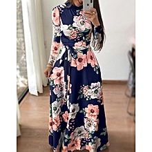 Fashion Long Maxi Floral Beach Casual Party Dress