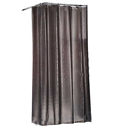 Shower Curtain (180 By 200cm) - Grey