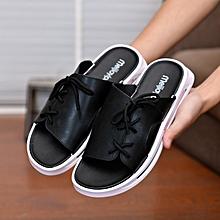 23df7a07a750 Men Summer Shoes Plus Size Leisure Cork Slippers Fashion Couple Slippers  Flip Flops Comfortable Footwear Sandals