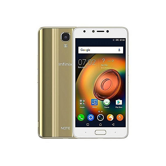 Redmi Note 5A Prime 5.5-Inch HD (3GB,32GB ROM) Android 7.0 Nougat, 13MP + 16MP Dual SIM 4G Smartphone - Gold