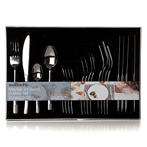 Mayfair 24 Piece Cutlery Set