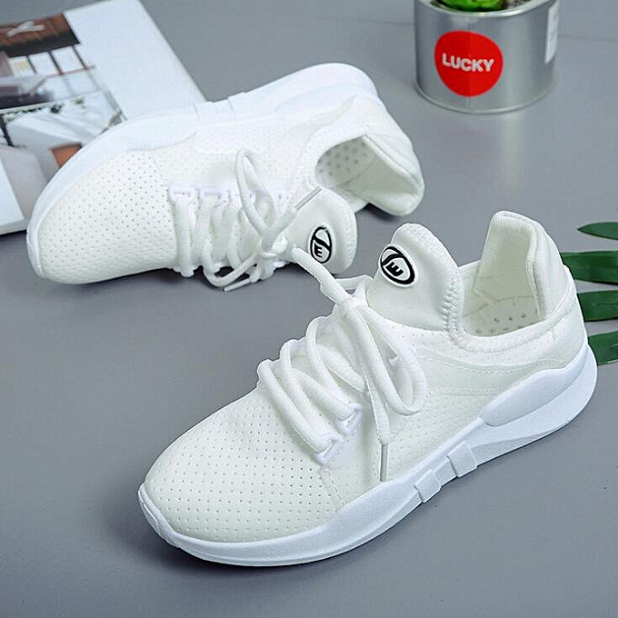 new style 24977 e8305 ... Women Tennis Shoes Ladies Casual Athletic Walking Running Hiking Sport  Sneakers White Outdoor Shoes