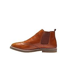 Men's Oxford Ankle Shoe Brown