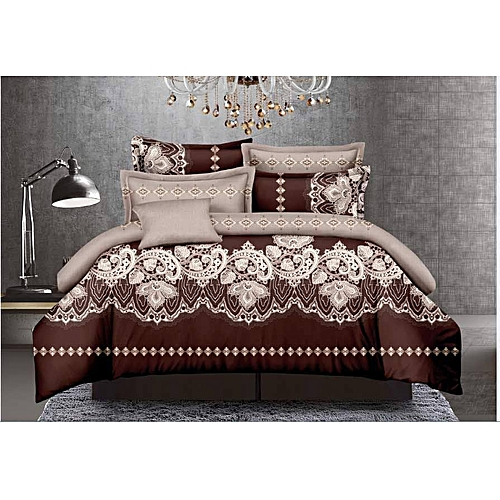 America Cotton Bedsheet With Duvet And Four Pillow Cases