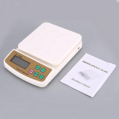 Digital Scale 10000g Precision For Kitchen Baking G/oz/lb/kg Tare Function