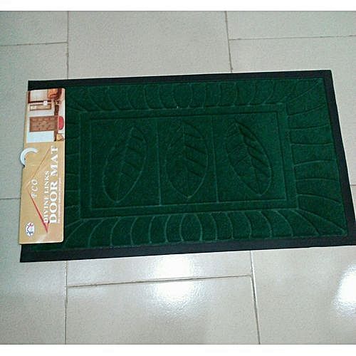 Foot Mat - Green Assorted
