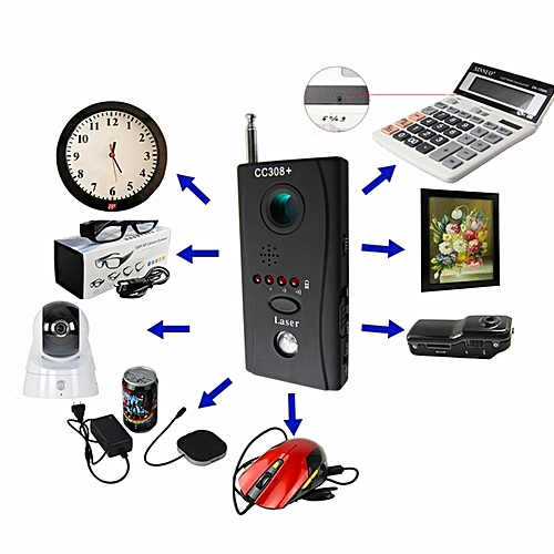 Hidden Camera Detector Anti Mini Detect Camera Lens Spycam Ready Stock LBQ