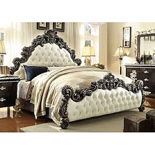 Russel Bed Frame In All Sizes (mattress, Dressing Mirror Set & Foot Rest Available On Request), DELIVERY IN LAGOS.