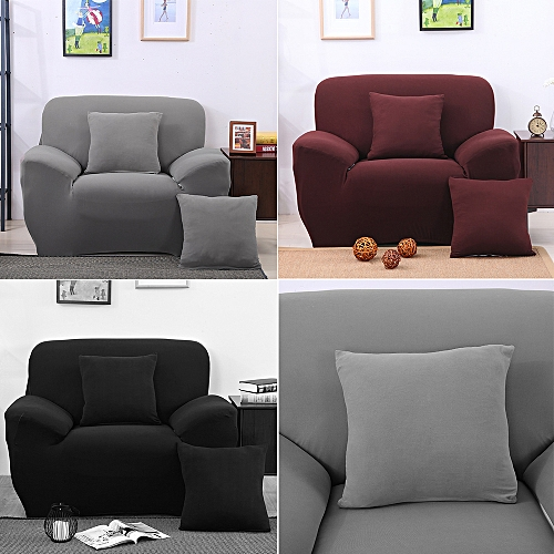 Liplasting One Seater Protector Couch Cover Sofa Cover Slipcover Full Cover  Skidproof Cloth 8d6e4df71