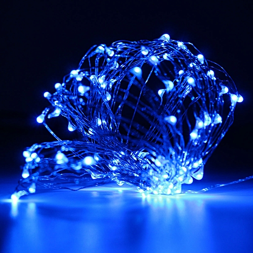 10M Christmas LED String Light Wedding Decor Copper Wire String LED Fairy Lights Battery Powered Waterproof Lamp DC6V