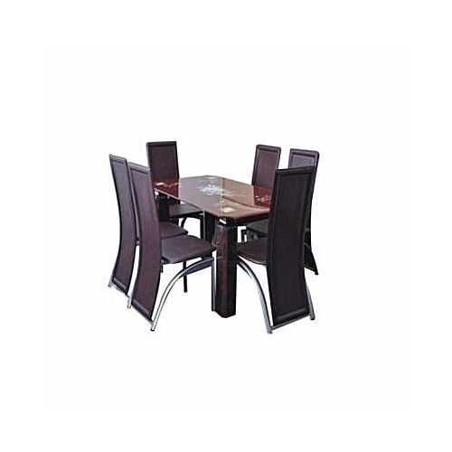 Ultimate Dinning Table With 6 Dinning Chairs