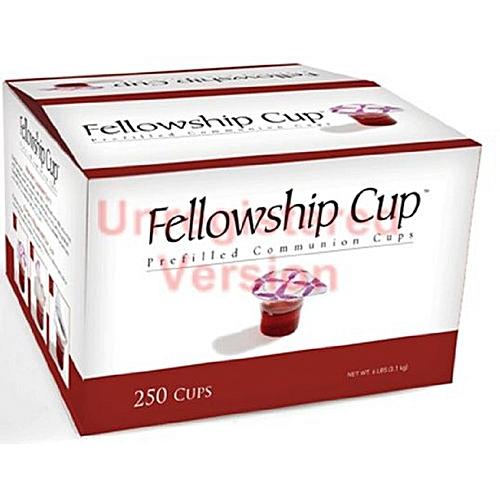 Church's Fellowship Cup Box Of 250 Cups