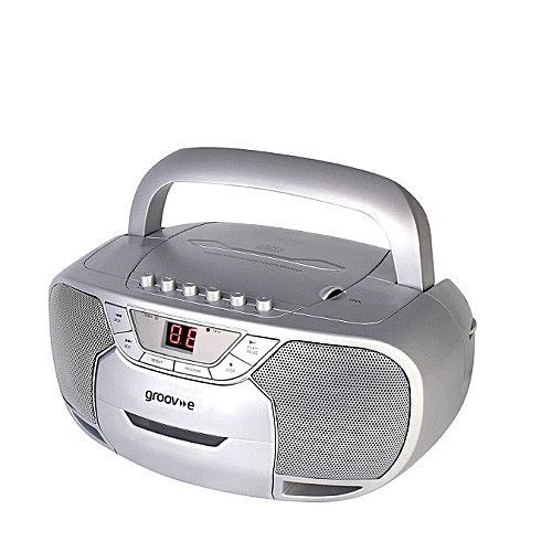 Classic Boombox Portable CD Player With Cassette & Radio