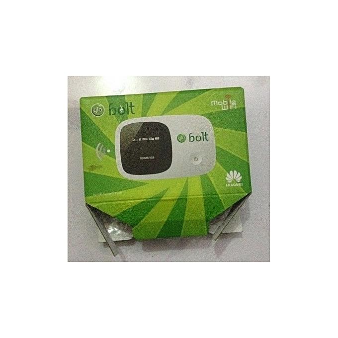 Glo 3G Bolt Mobile Wifi Modem With 6gig Free Data Sim Card