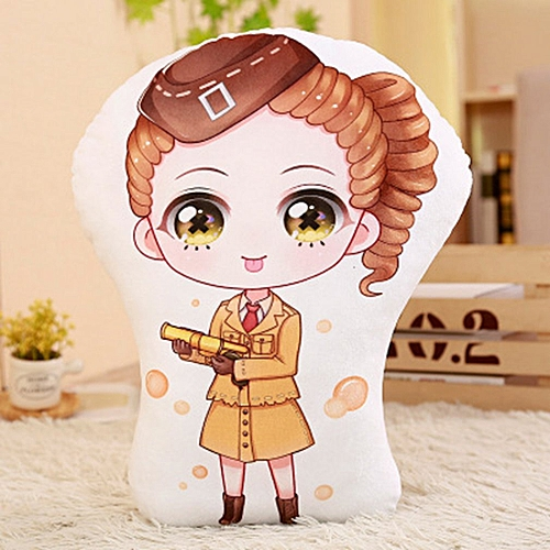 Cute Plush Toy Stuffed Soft Animal Cartoon Pillow Lovely Christmas Gift White 20cm Air Force