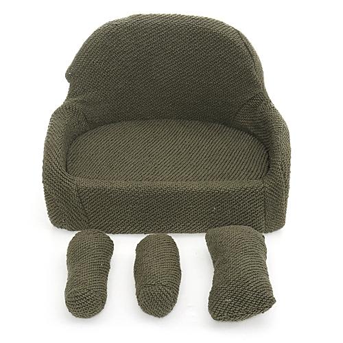 4PCS NEWBORN BABY PHOTOGRAPHY PROPS SOFT SOFA CHAIR SEAT BACKDROP GIRLS