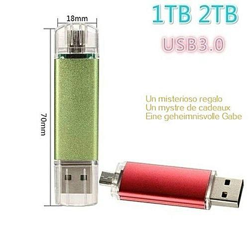 Memory Stick 1tb /2tb Usb 3 0 Smart OTG Flash Drive Disk Storage Card Cle Usb