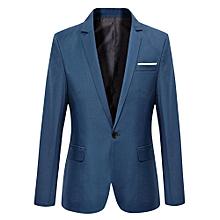bc745668a6e Blue 302 Luxury Men Wedding Suit Male Blazers Slim Fit Suits For Men  Costume Business Formal