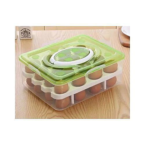 32 Layers Double Egg Rack Box