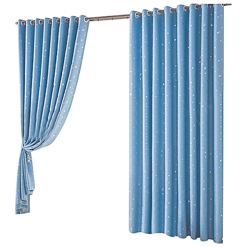 1PCS-1.3M*1M Lighttight Bedroom Bathroom Window Curtain