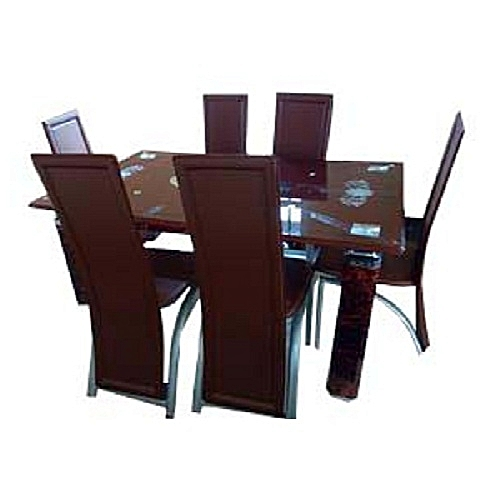 Exquisite Dinning Set With 6 Dinning Chair