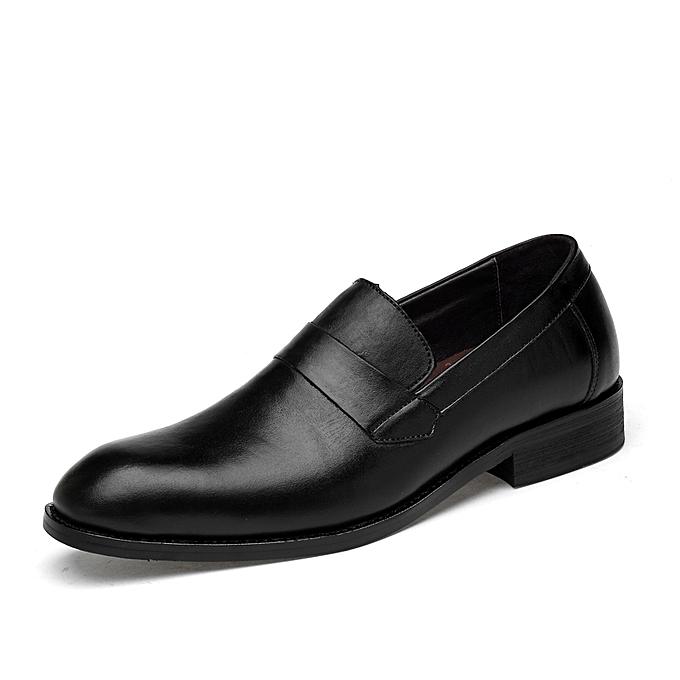 Genuine Leather Mens Wedding Shoes Crocodile Style Italian Men Formal