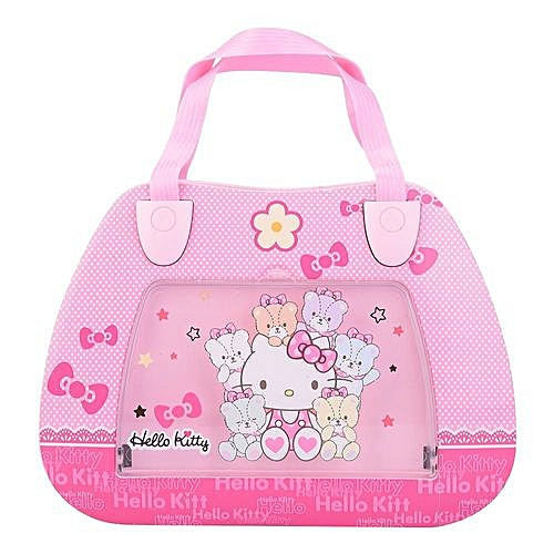 【Time-limited Promotions】【Brithday Gift】 Pink Handbag Shape Jewelry Storage Box Rotary Dance Doll Music Box Gift