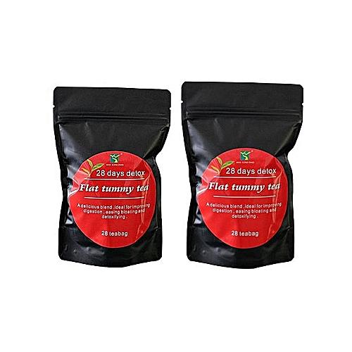Flat Tummy Tea With Moringa - 28 Tea Bags(2 PACKS)