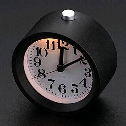 Aluminum Round Alarm Clock
