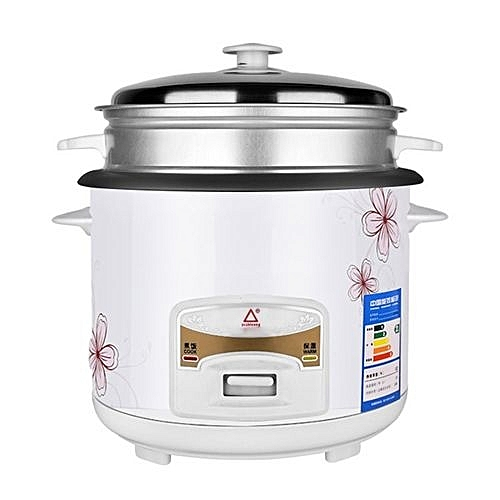 Steam Electric Rice Cooker 3 Ltr Stainless Steel Rice Maker