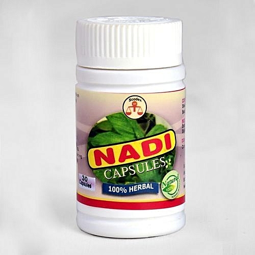 Nadi Capsules For Sexually Transmitted Diseases (STD) - 30 Caps