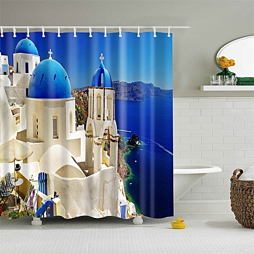 Lodaon Lodaon Polyester Fabric Shower Curtain 66 X 72inch Home Decor